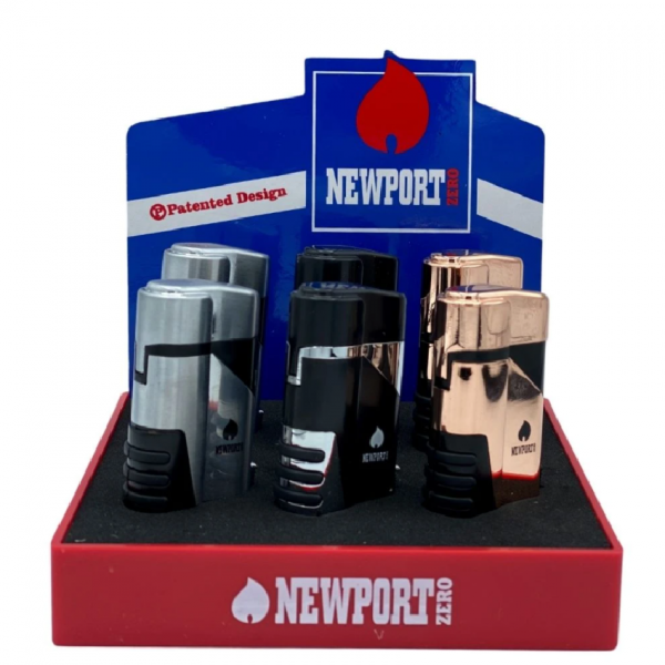 NEWPORT - Dual Flame Pocket Torch Lighter