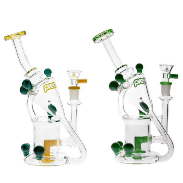 """PREEMO - 9"""" BAUBLE RECYCLER DAB RIG"""