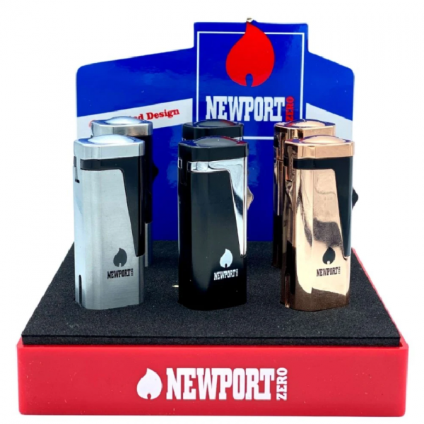 NEWPORT - Triple Flame Pocket Torch Lighter