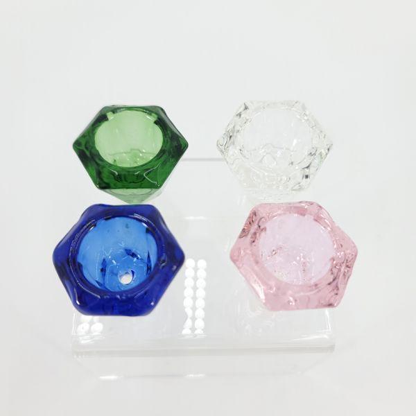NICE GLASS - 14mm DIAMOND GLASS BOWL