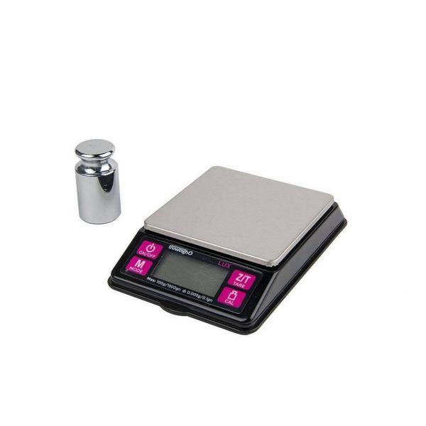 TRUWEIGH - LUX - DIGITAL MINI SCALE 100g x 0.005g, BLACK