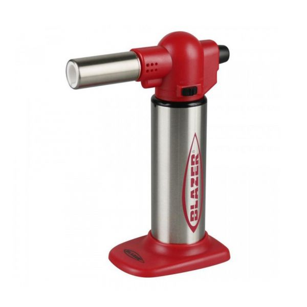 BLAZER - BIG BUDDY TURBO FLAME MICRO TORCH, RED