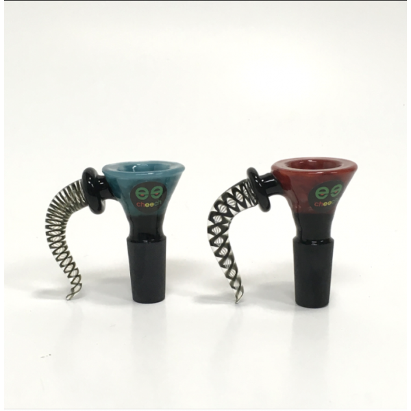 CHEECH-14MM HIVE CONE BOWL WITH HORN