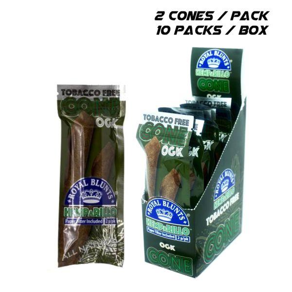 ROYAL BLUNTS CONE - OGK / 10 PACK