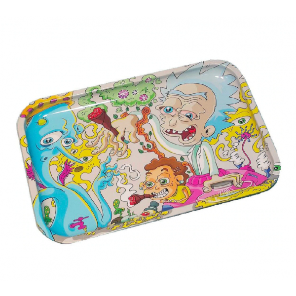 "Dunkees 13"" x 9"" Rolling Tray - Get Swifty"
