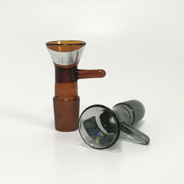 GEAR - 19mm COLOR CONE BOWL WITH HANDLE