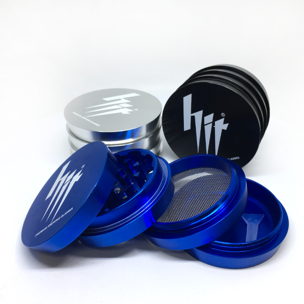 "HIT - 2.5"", 4-PIECE GRINDER - CASCADING"