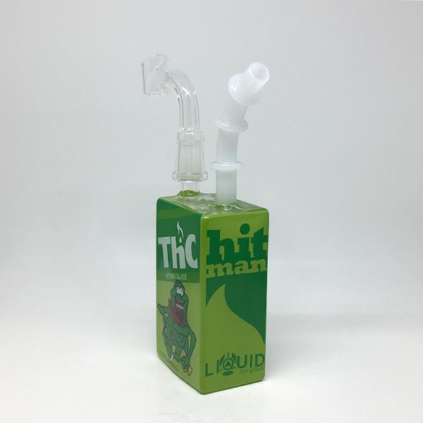 HITMAN GLASS - JUICE BOX DAB RIG, THC