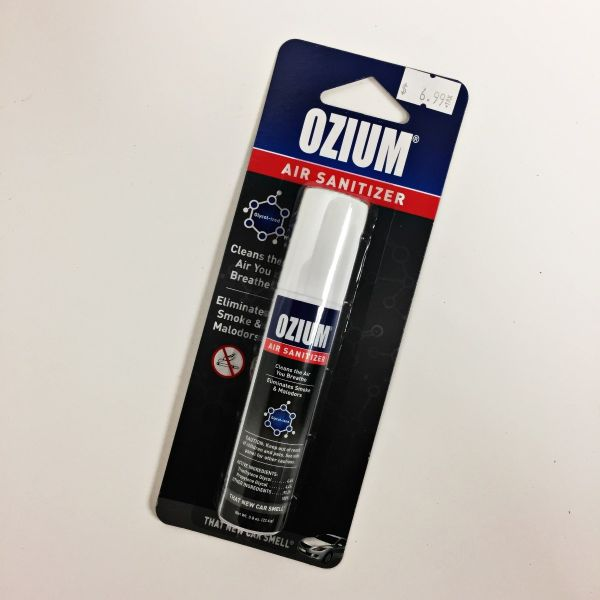 OZIUM AIR SANITIZER - THAT NEW CAR SMELL, 0.8 OZ