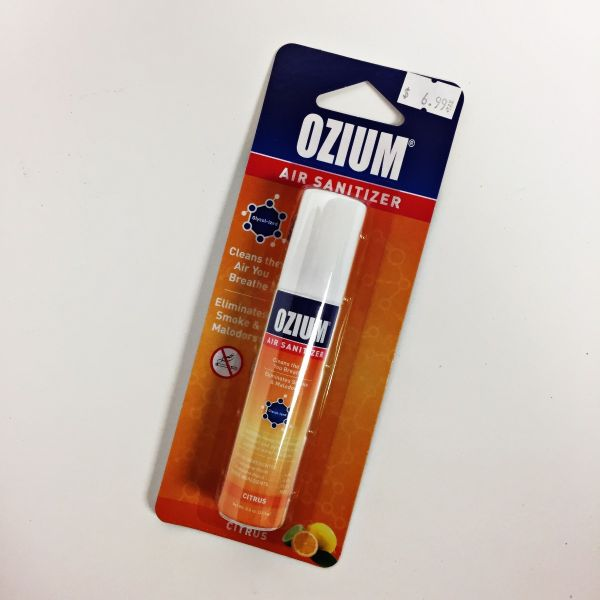 OZIUM AIR SANITIZER - CITRUS , 0.8 OZ