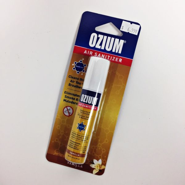 OZIUM AIR SANITIZER - VANILLA, 0.8 OZ