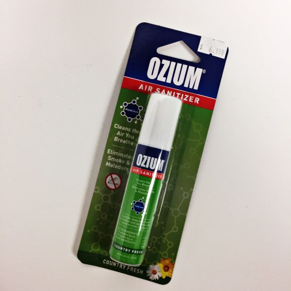 OZIUM AIR SANITIZER - COUNTRY FRESH, 0.8 OZ