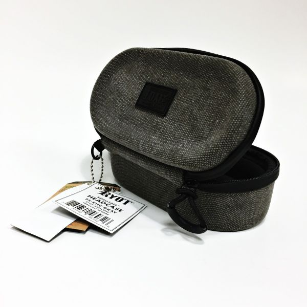 RYOT - HEADCASE WITH SMELLSAFE & LOCKABLE TECH, GRAY