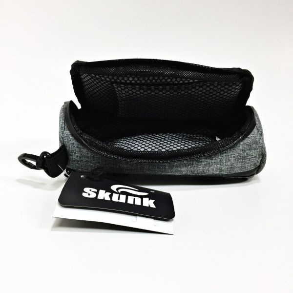 "SKUNK - WARRIOR SMELL PROOF CASE 7"" x 3"" / GRAY"