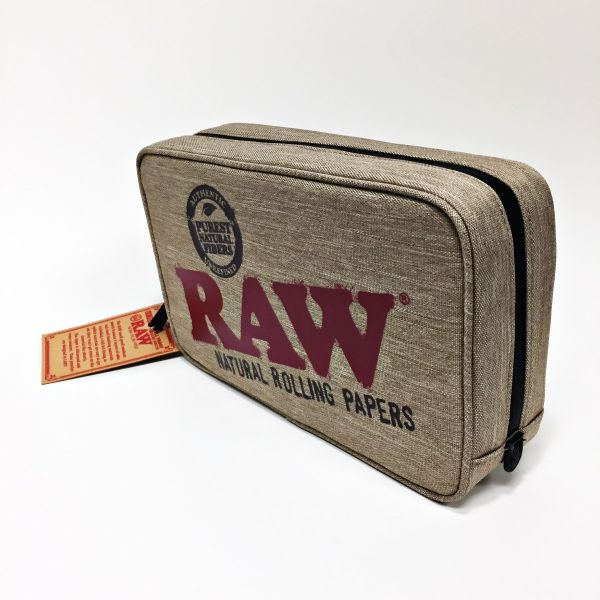 RAW - SMELL PROOF BAG QUARTER POUNDER