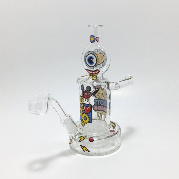 JEROME BAKER - LOVE DABS ROBOT OIL RIG W/ INLINE PERC