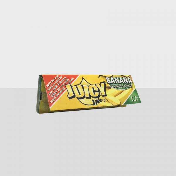 JUICY JAY'S - BANANA 1 1/4 SIZE