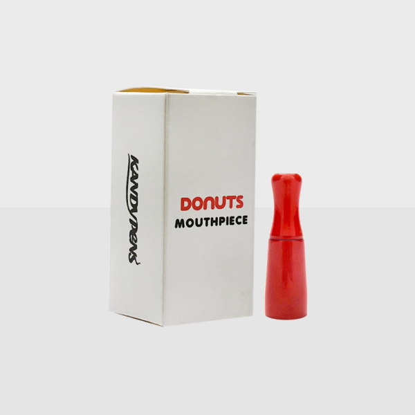 Kandy Pens Donuts Replacement Mouthpiece - Velvet Red
