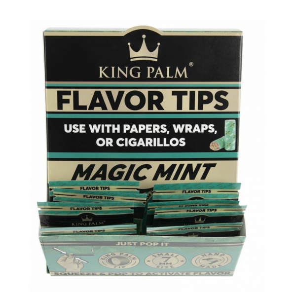 King Palm Terps Filters - MAGIC MINT