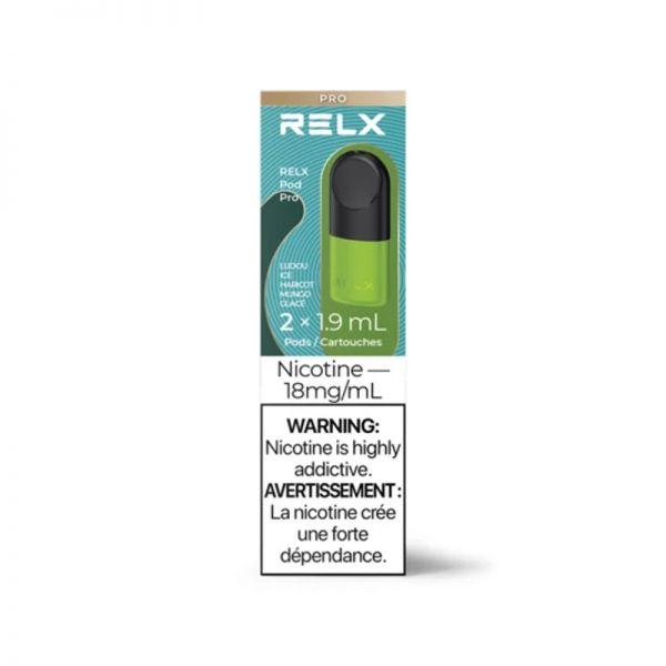 RELX POD PRO - LUDOU ICE-18mg N.S.