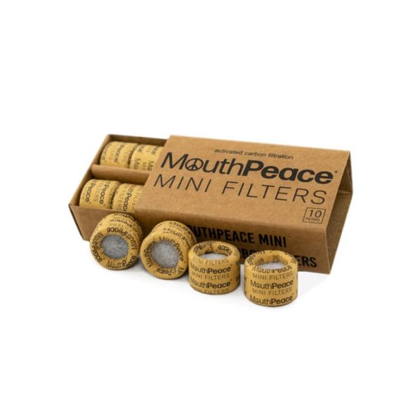 MOOSE LABS - MOUTHPEACE MINI FILTERS, PACK OF 10