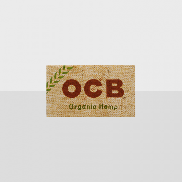 OCB - ORGANIC HEMP SINGE SIZE DOUBLE WINDOW 100