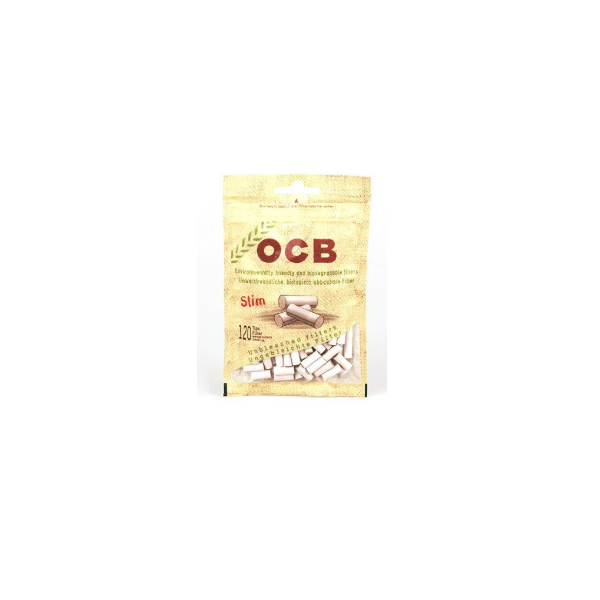 OCB SLIM UNBLEACHED COTTON FILTER