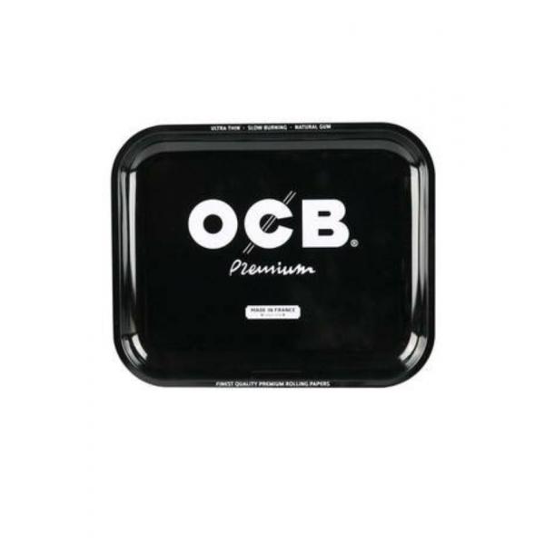 OCB Small Metal Rolling Tray – Premium