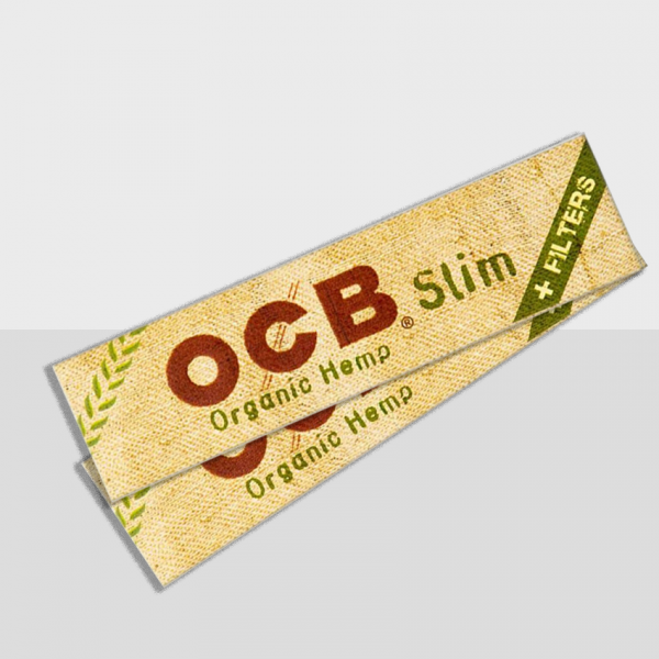 OCB - ORGANIC HEMP KING SIZE PAPERS & FILTER TIPS (32PCS)