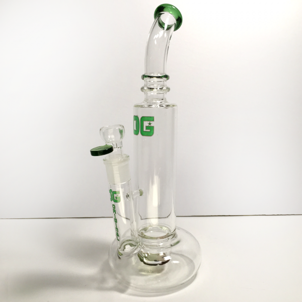 OG-Original 12 inch bubble base with spinner - GREEN