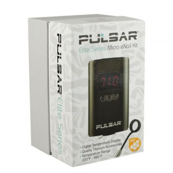 Pulsar Elite Series Micro e-Nail Kit, Black