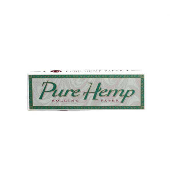 PURE HEMP ROLLING PAPERS 1 1/4 SIZE, PACK OF 50