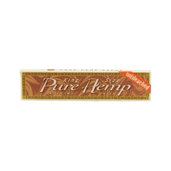 PURE HEMP - UNBLEACHED KING SIZE / PACK OF 33