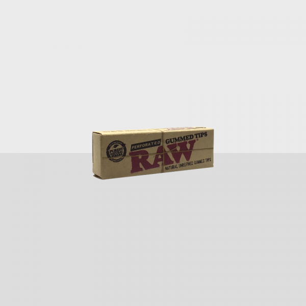 RAW - PERFORATED GUMMED TIPS / PACK OF 33