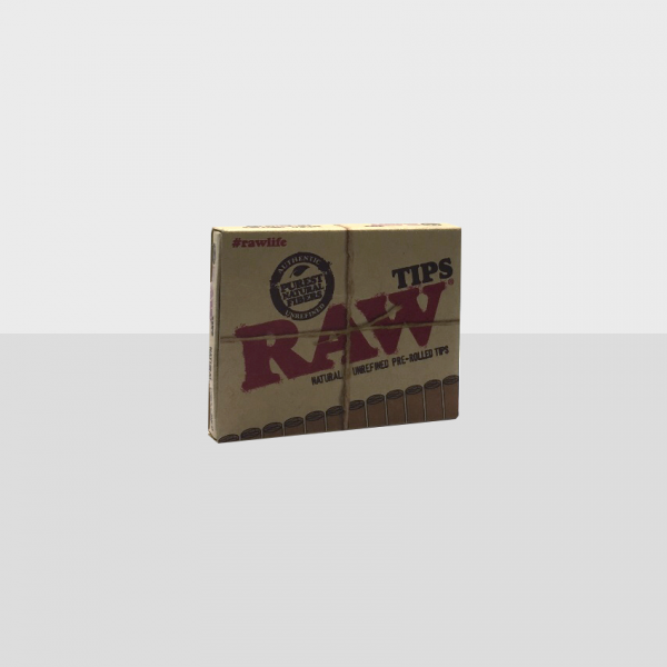 RAW - PRE-ROLLED TIPS / PACK OF 21