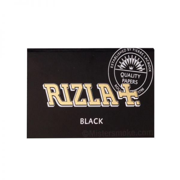 RIZLA BLACK - DOUBLE WINDOW / PACK OF 100