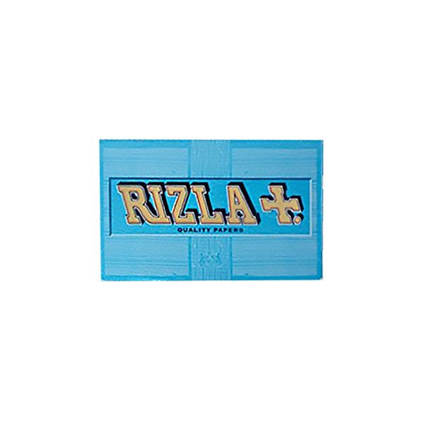 RIZLA BLUE - DOUBLE WINDOW / PACK OF 100