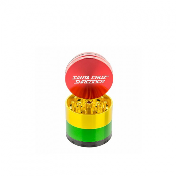 "SANTA CRUZ SHREDDER - 1.5"" SMALL ALUMINUM 4-PIECE GRINDER"