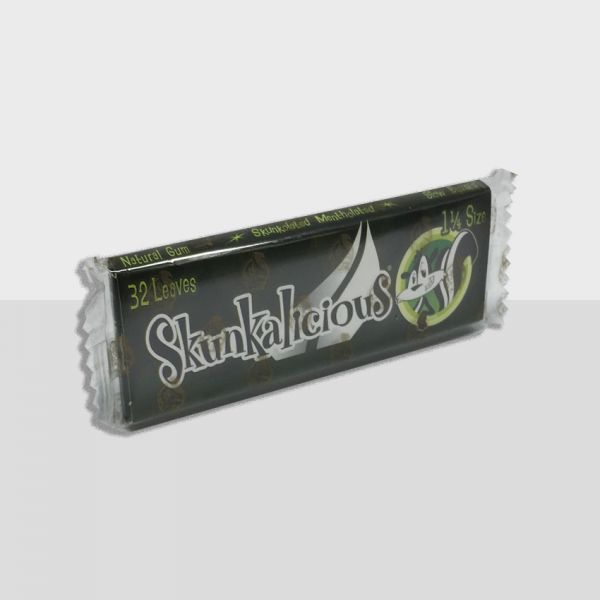SKUNK - SKUNKOLATED BOLD MENTHOL / 11/4 SIZE, PACK OF 32