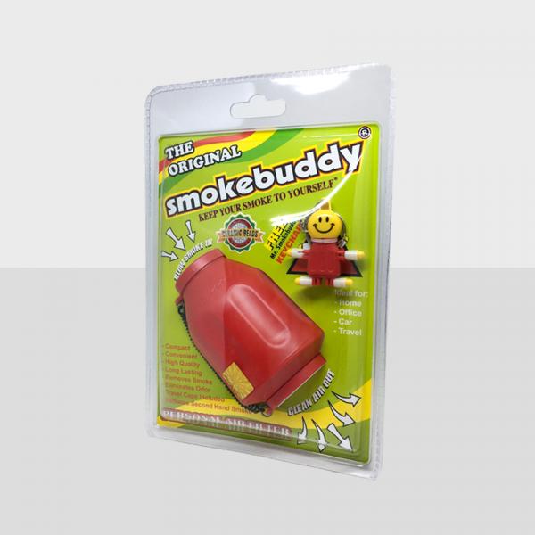 SMOKE BUDDY REGULAR - RED, PACK OF 1