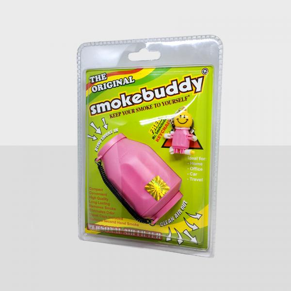 SMOKE BUDDY REGULAR - PINK, PACK OF 1