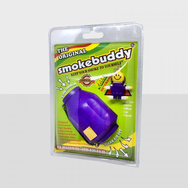 SMOKE BUDDY REGULAR - PURPLE, PACK OF 1