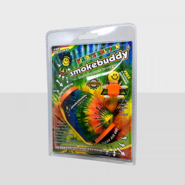 SMOKE BUDDY REGULAR - TIE DYE, PACK OF 1