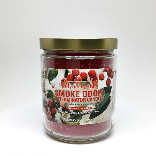 SMOKE ODOR - HOLLYBERRY HILLS, JAR OF 13oz