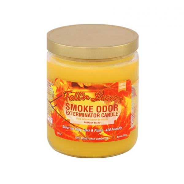 SMOKE ODOR - FALL'N LEAVES , JAR OF 13oz