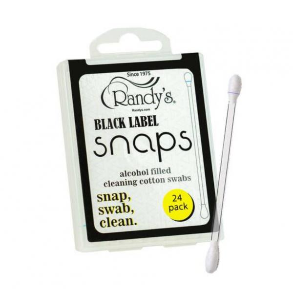 """Randy's Black Label """"Snaps"""" 24 per pack, 12 packs per Display"""