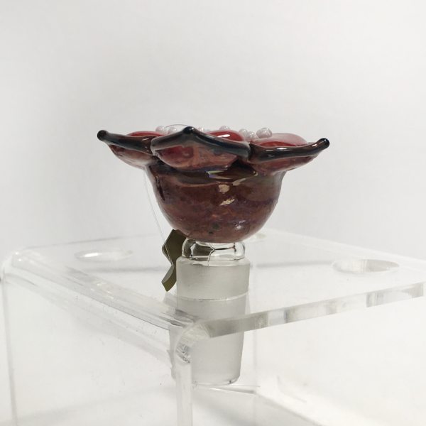 Stranger Flower Bowl 14mm by Empire Glassworks