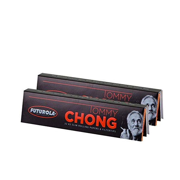 FUTUROLA - TOMMY CHONG KING SLIM SIZE PAPERS & TIPS