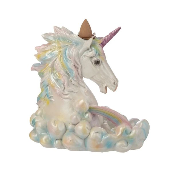 Unicorn Backflow Incense Burner
