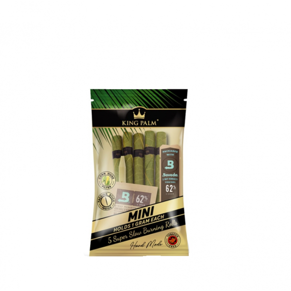 KING PALM - MINI ROLLS / PACK OF 5